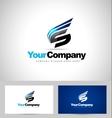 Letter S Logo Design vector image vector image