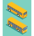 Public transport bus Transportation icon Flat vector image vector image