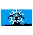 Somali pirates vector image vector image