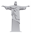 statue of jesus christ vector image