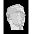 The head vector image