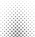 Abstract monochrome concentric circle pattern vector image vector image