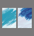 abstract paint brush stroke background vector image