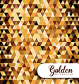 Gold design vector image