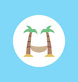 hammock icon sign symbol vector image