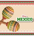 icon maracas mexican music graphic vector image vector image