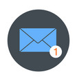 icon of new email envelope image vector image vector image