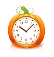 Pumpkin Clock vector image