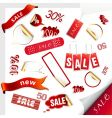 Set of sale tags