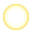 sunny icon isolated logo stylized vector image