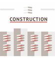 symbol construction company vector image