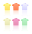 T shirts vector image vector image