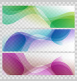 abstract background set banners color vector image vector image