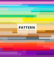 abstract image colorful horizontal rectangle vector image vector image