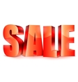 Big Sale Word vector image vector image