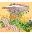 Blooming area vector | Price: 3 Credits (USD $3)