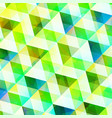 crystal geometric abstract background vector image vector image