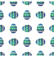 easter eggs seamless vector image vector image