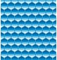 hexagone seamless blue vector image