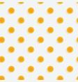 polka dots 3d seamless pattern vector image