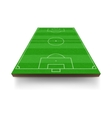 Soccer field icon cartoon style vector image vector image