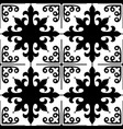 spanish tiles pattern moroccan and portuguese til vector image vector image