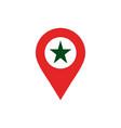 star location logo icon design vector image vector image