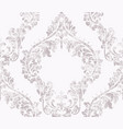 vintage acanthus decor ornamented pattern vector image vector image