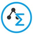 Analytical Formula Icon vector image