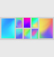 bright colors gradient abstract background vector image vector image