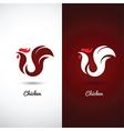 Chicken 2 vector image vector image