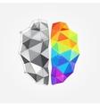 concept human brain vector image