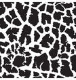 Giraffe skin seamless pattern print vector image vector image