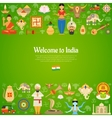 India Background vector image