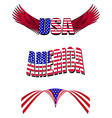 patriotic designs vector image