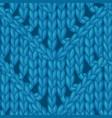 zigzag chevron stitch pattern vector image