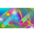 abstract vibrant background design with falling vector image vector image