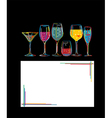 Cocktail hour vector | Price: 1 Credit (USD $1)