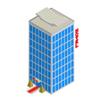 Isometric hotel icon vector | Price: 1 Credit (USD $1)