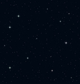Seamless Realistic Night Sky vector image vector image