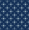 traditional indigo blue japanese seamless vector image vector image