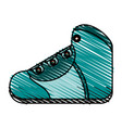 shoe vector image