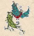 Bird Phoenix Spring vector image vector image