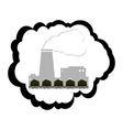 Coal industry vector image vector image