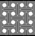 design seamless interlaced pattern vector image