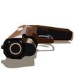gun vector image vector image