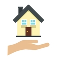 House logo flat style vector image vector image