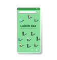 people different occupations celebrating labor