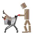 Sale Shopping Conceptual vector image vector image