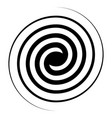 spiral swirl icon swirl sign double spiral vector image